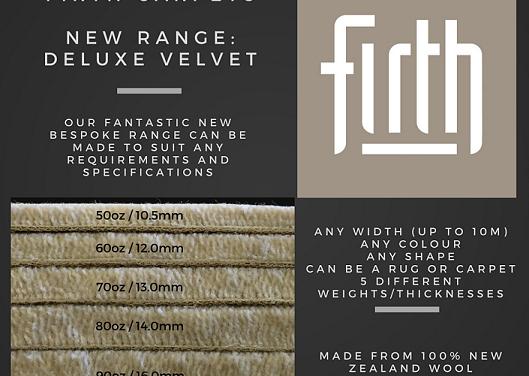 New Deluxe Velvet Range
