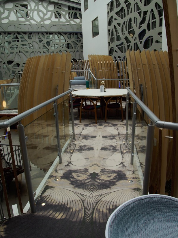Firth Carpets - one of the flooring solutions we developed for Heathrow Airport