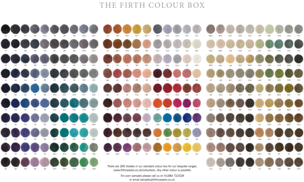 The updated Firth Colour Box
