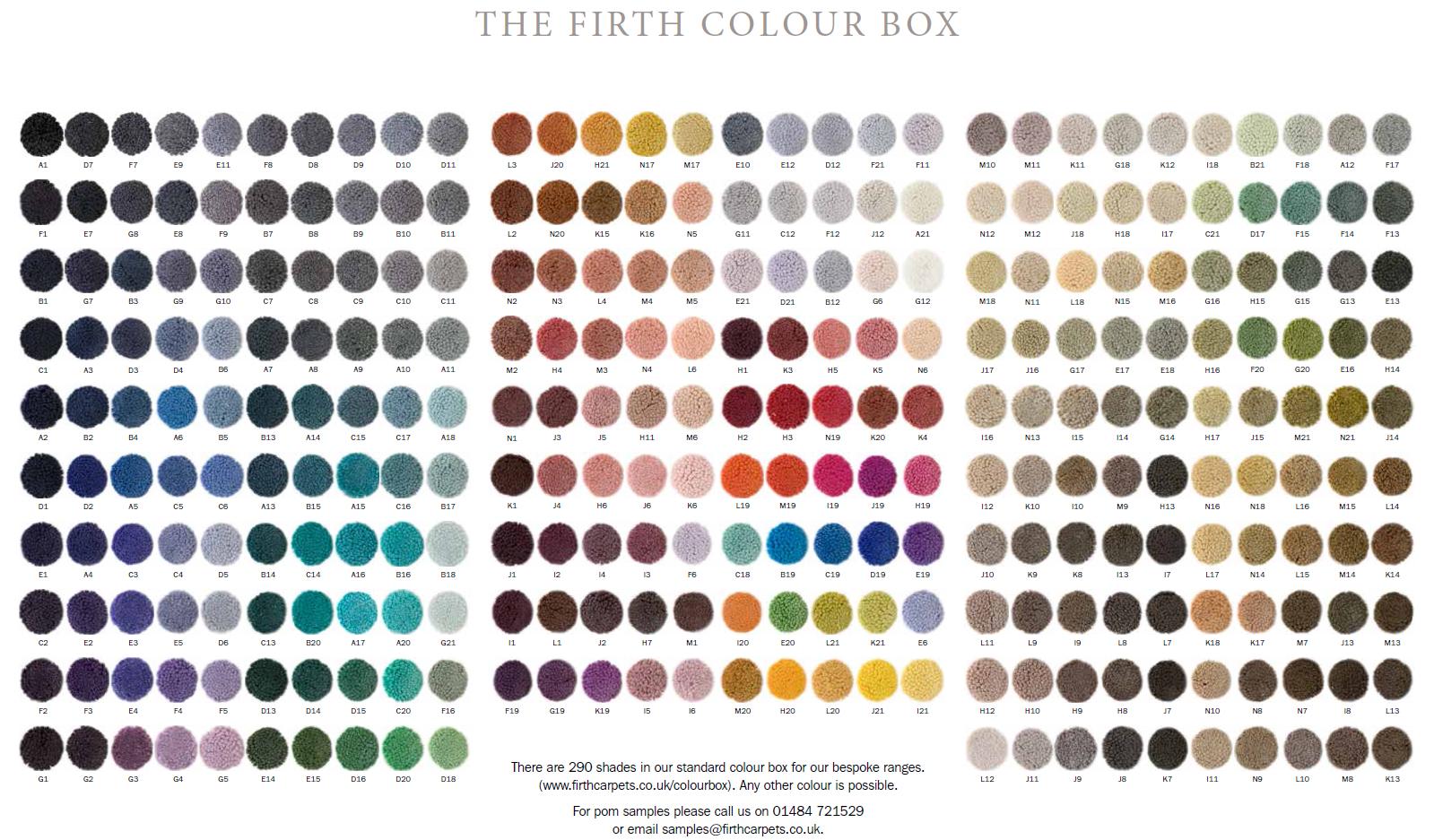 Firth Carpets - colourbox