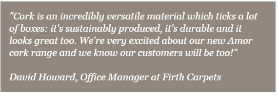 Firth Carpets - quote from David Howard