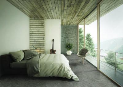 Firth Carpets Concrete Nordic all cork stone interior